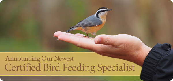 Certified Bird Feeding Specialist